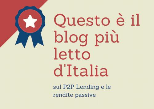 Blog più letto rendite passive Italia