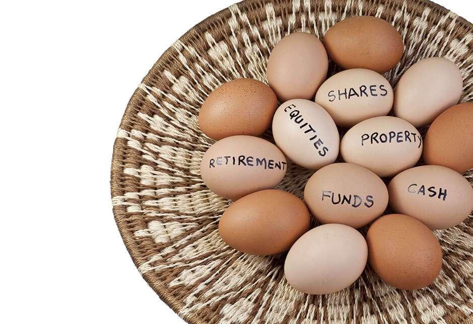 Uova-paniere-investimenti diversificati