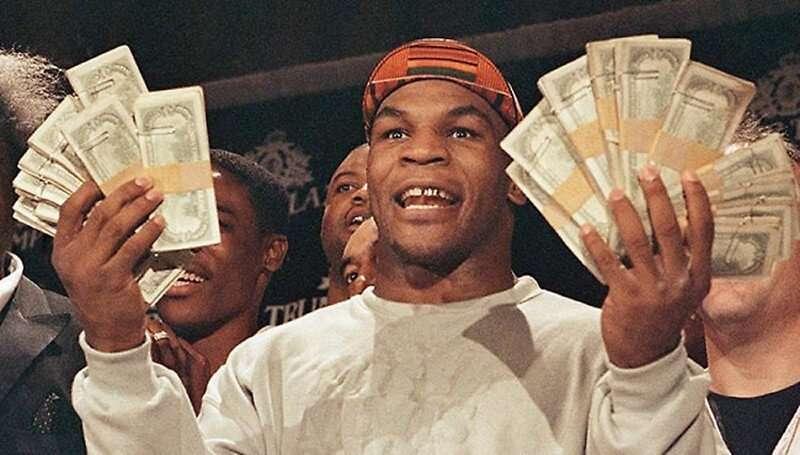 Tyson non sapeva risparmiare ogni giorno..
