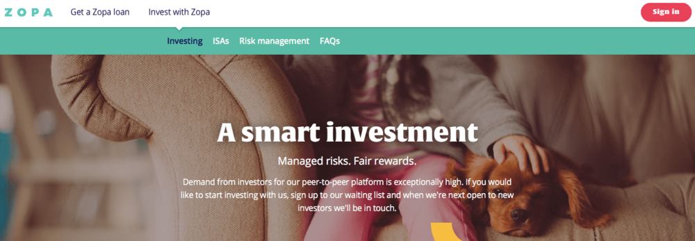 Zopa the oldest p2p lending