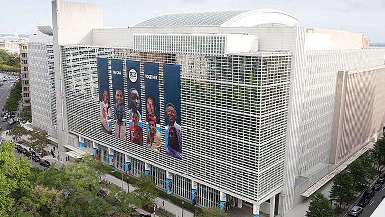 La sede della banca internazionale per la ricostruzione e lo sviluppo. Washinton (USA)