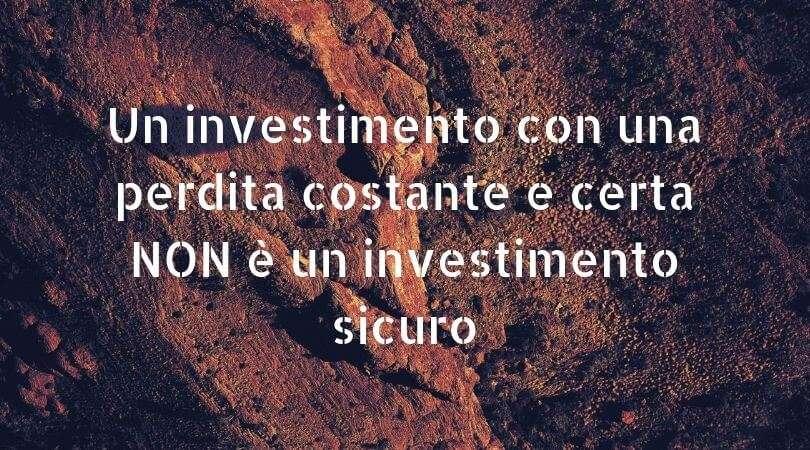 investimento sicuro rendite passive