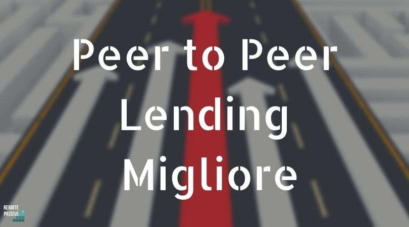 Peer to Peer Lending Migliore