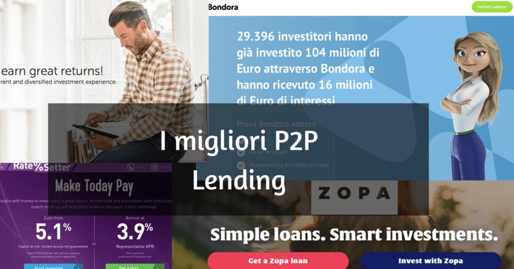 migliori siti p2p lending italiano