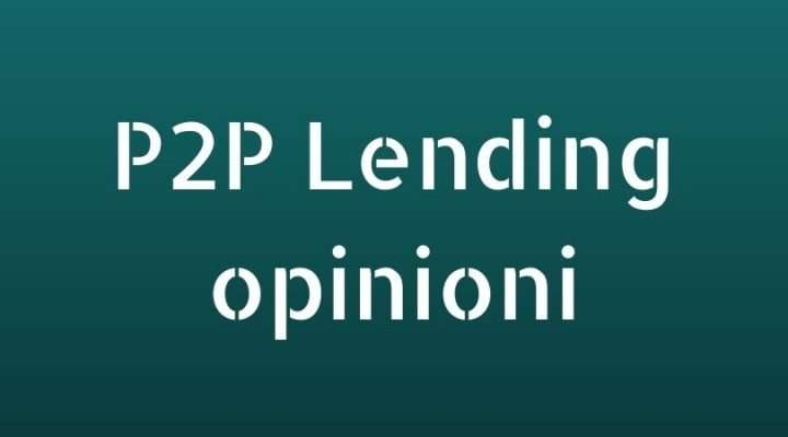 P2P Lending opinioni
