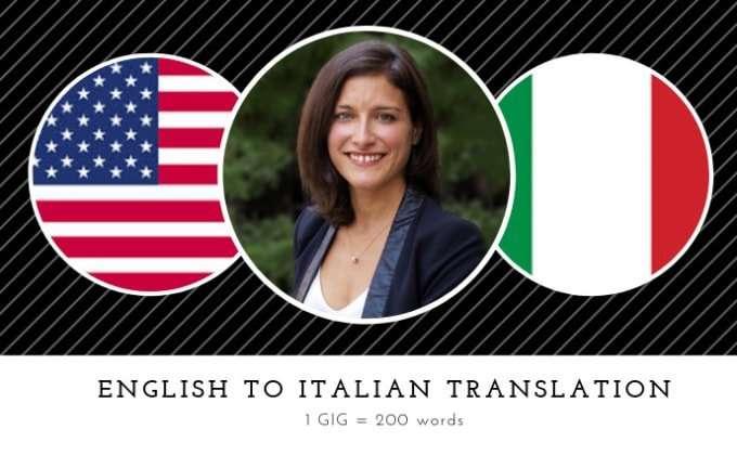 Rendite passive con traduzioni italiano inglese Fiverr