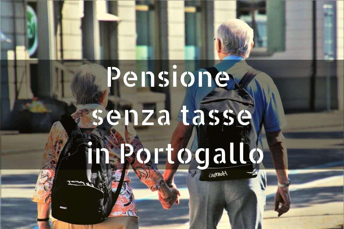 Pensione senza tasse Portogallo