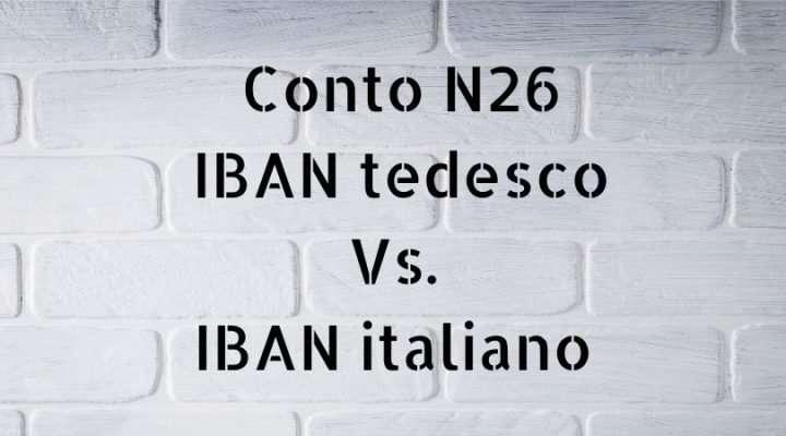 conto-n26-iban-italiano