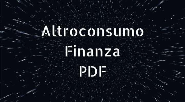 pdf Altroconsumo Finanza