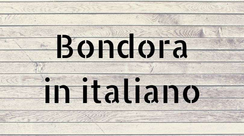 Bondora in italiano