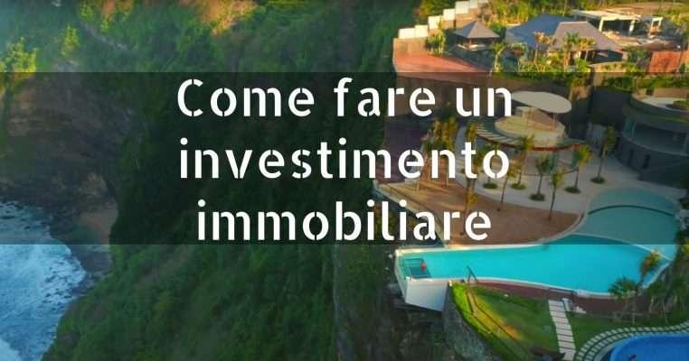 Come fare un investimento immobiliare renditepassive