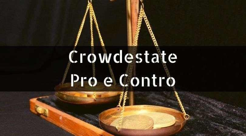 Crowdestate Pro e Contro