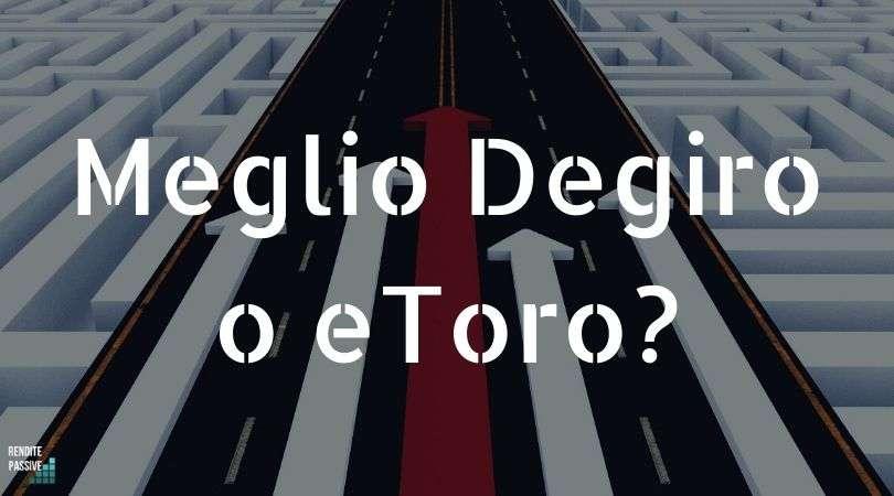 Meglio Degiro o eToro?