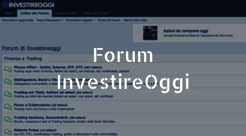 forum investireoggi