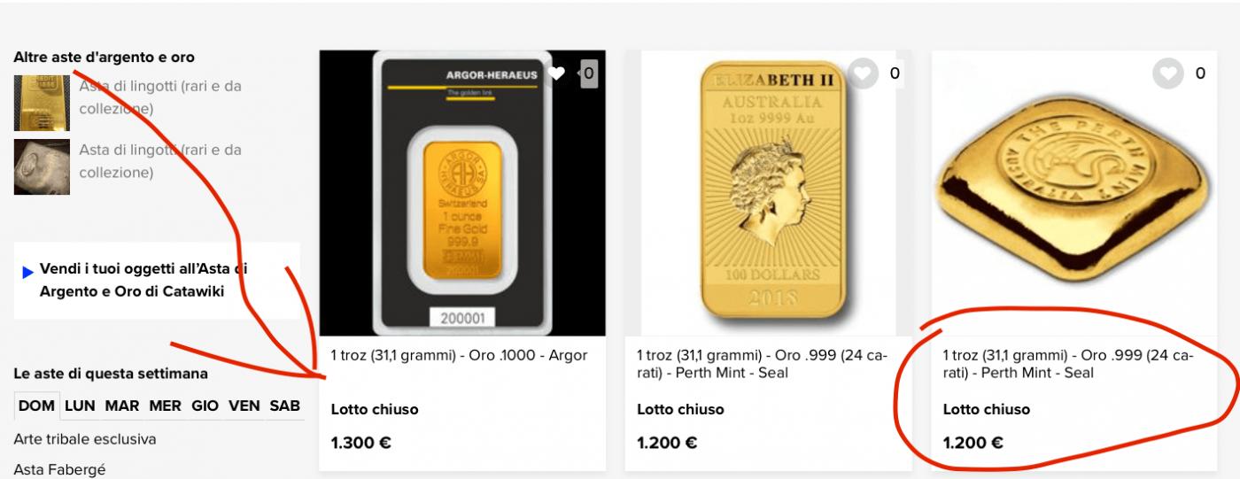 oro-asta-comprare-catawiki