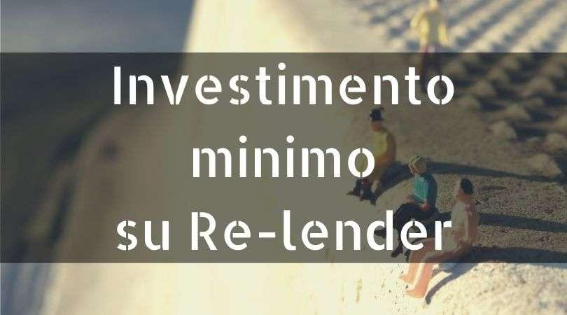 investimento minimo relender