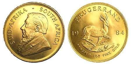 krugerrand sud africa prezzo