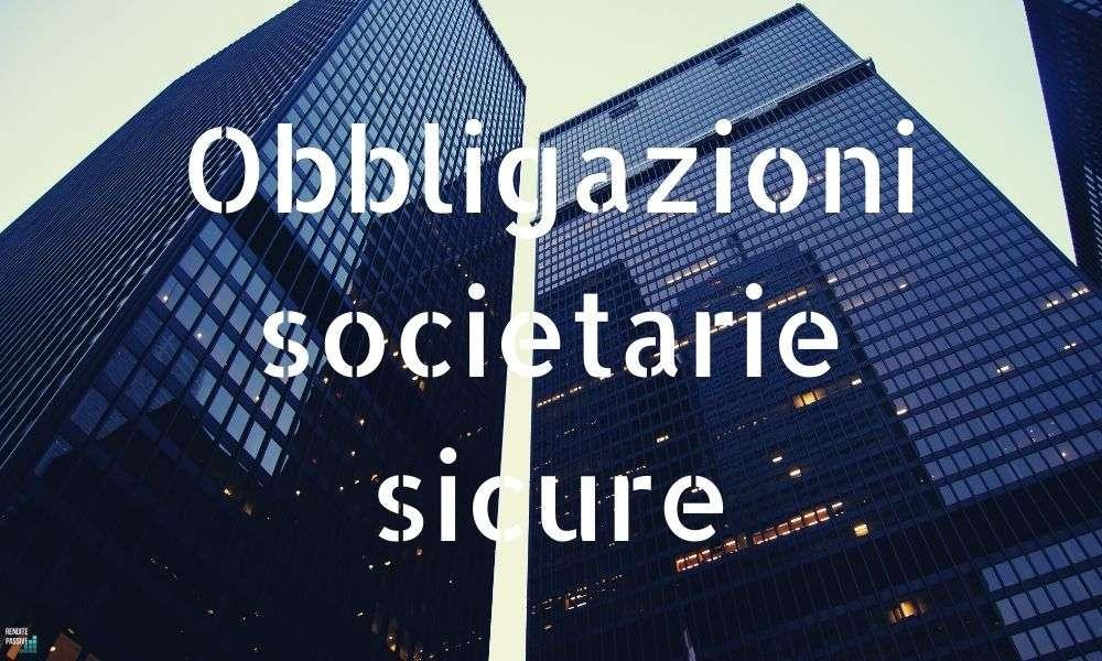 obbligazioni sicure italia