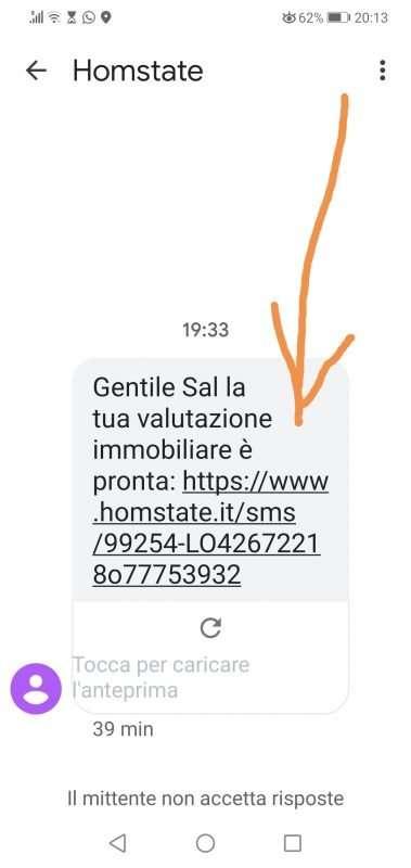 valutazione casa telefono-whatsapp sms