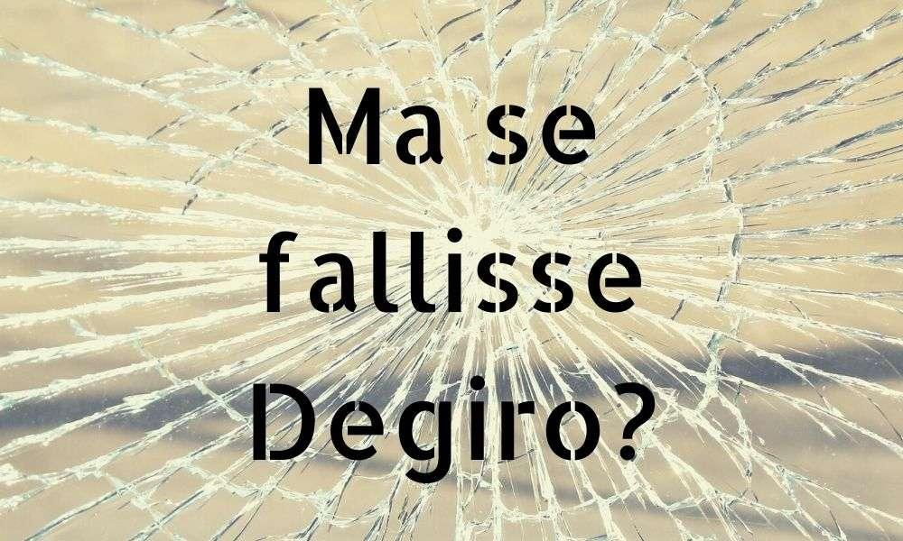 degiro default fallimento