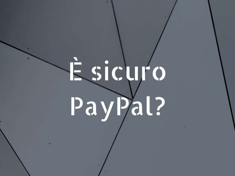 PayPal sicuro