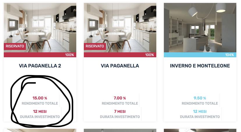 esempi di affari immobiliari online