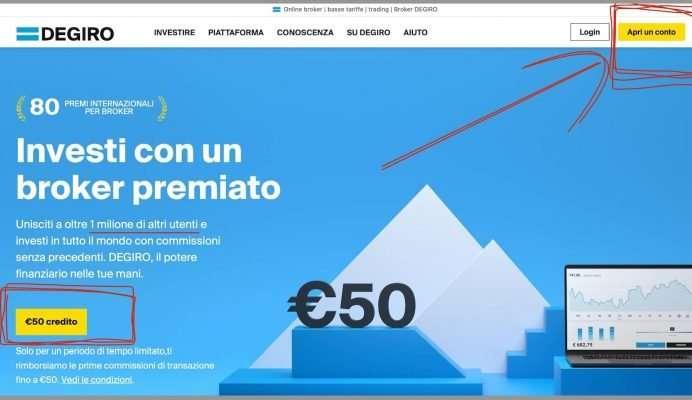 degiro piattaforma trading in italiano login