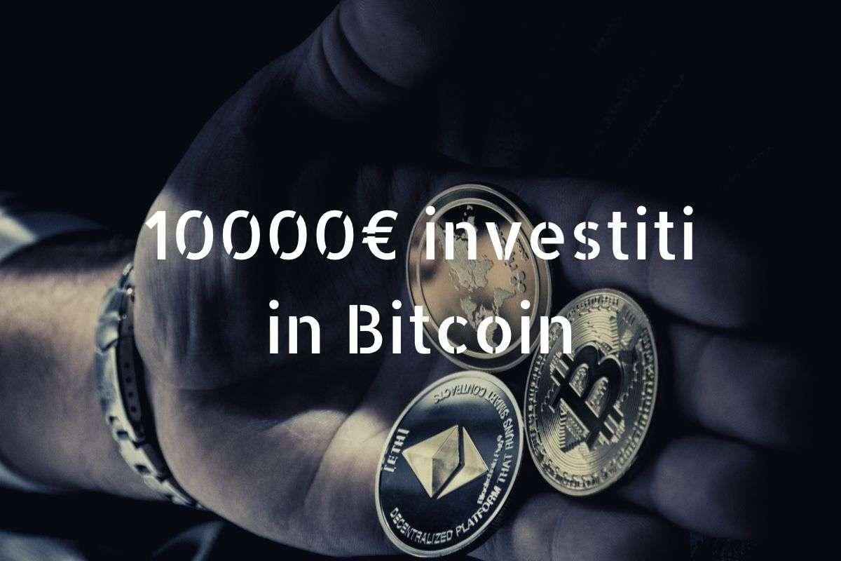 1o.000 euro investiti in bitcoin