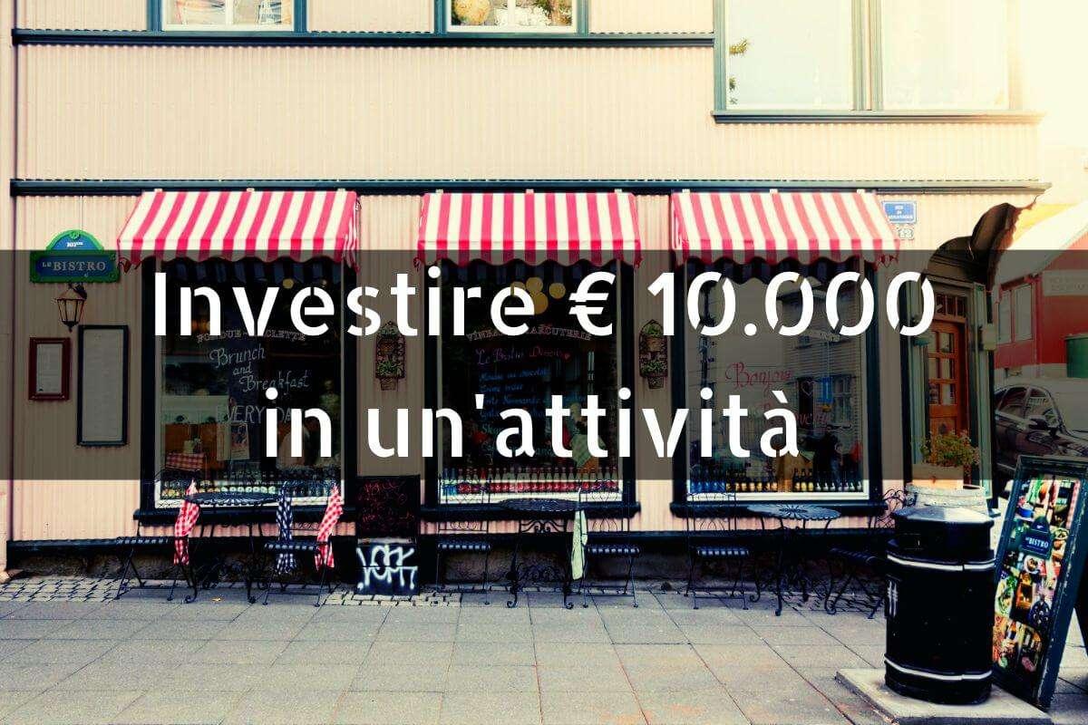 Investire € 10.000 in un'attività