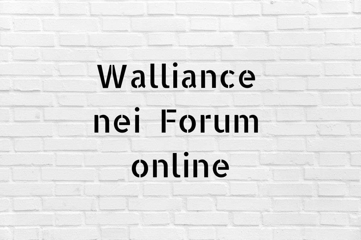 forum Walliance